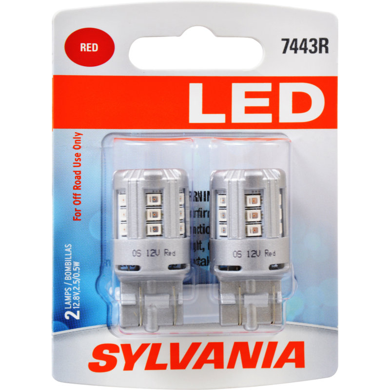 7443R (RED) LED Bulb