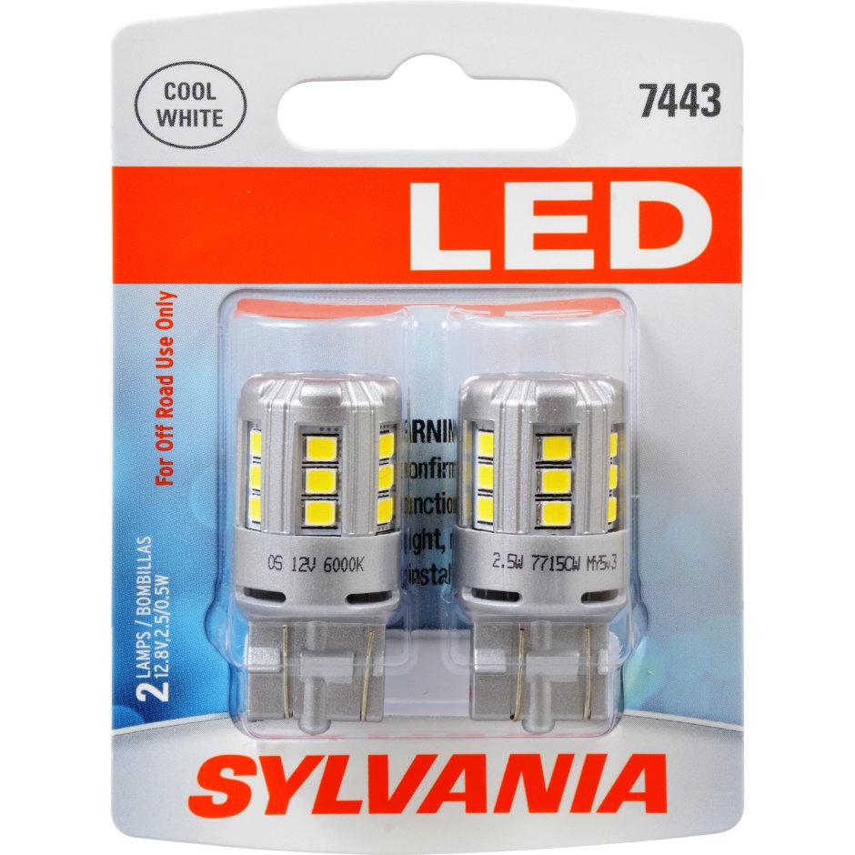7443 (WHITE) LED Bulb