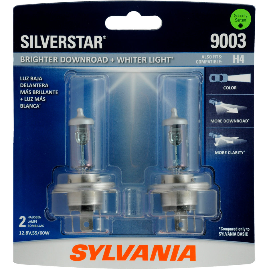 9003 Bulb - SilverStar