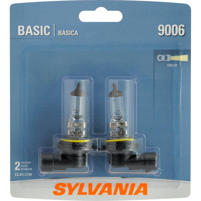 Sylvania 9006 Basic Headlight Bulb Sylvania Automotive