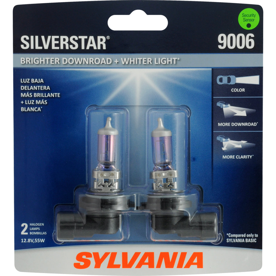 Sylvania 9006 Basic Headlight Bulb Sylvania Automotive