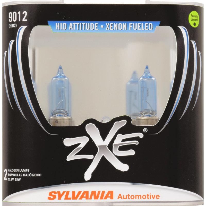 Whiter Light, Xenon Fueled, HID Attitude - SYLVANIA 9012 SilverStar