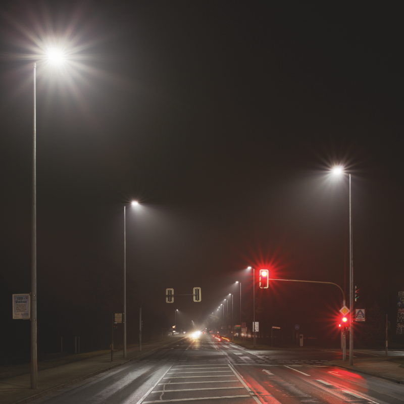Street Light Control | Light is OSRAM on