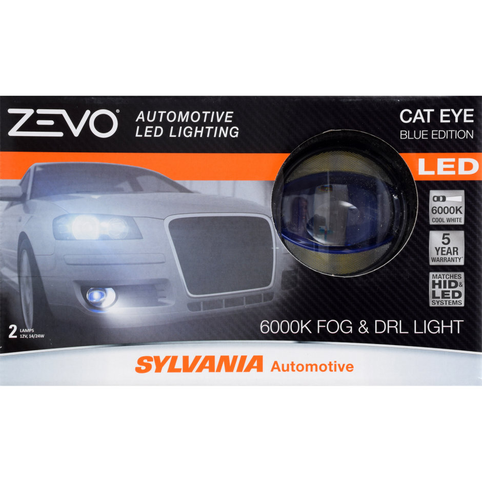 SYLVANIA ZEVO LED Blue Cateye Fog Bulb
