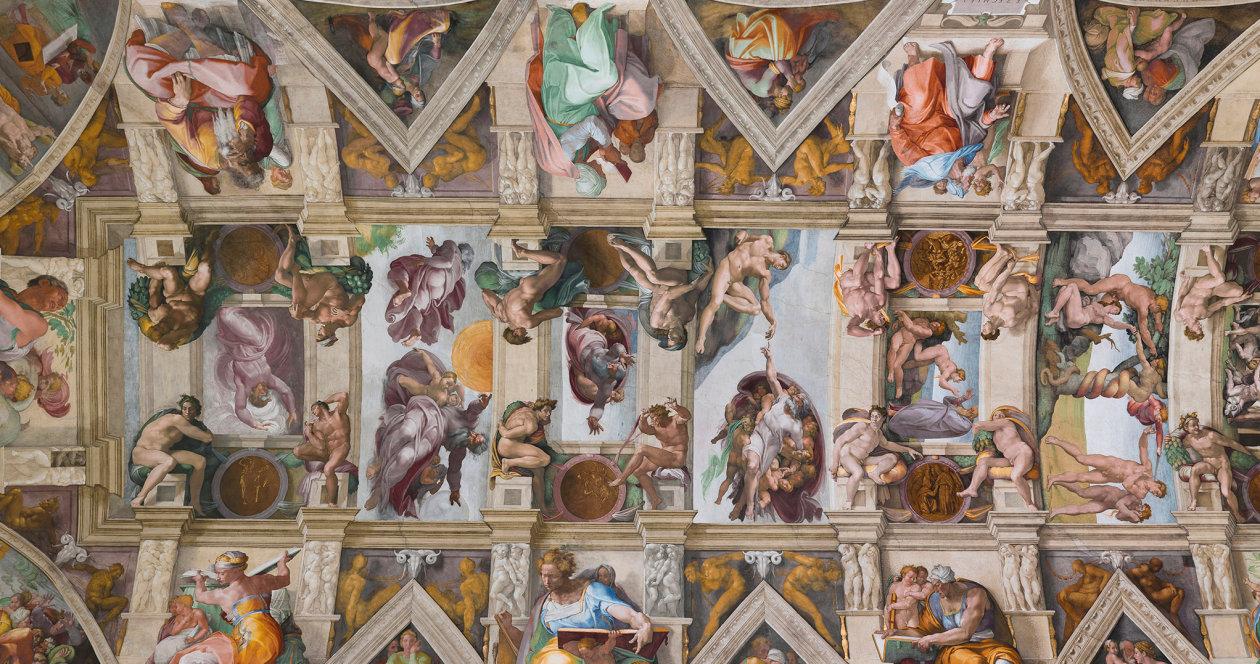 Sistine Chapel ©Copyright – Governatorato dello Stato della Città del Vaticano – Direzione dei Musei