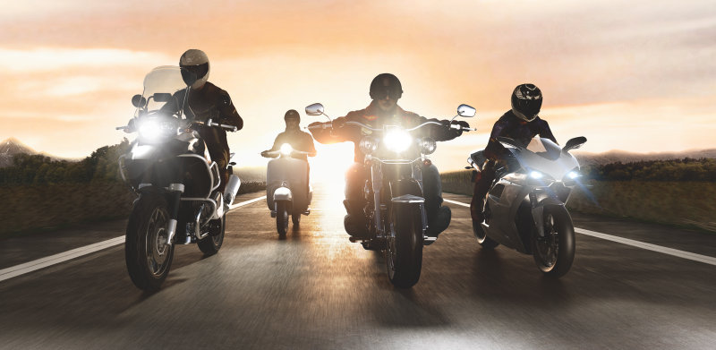 Motorcycle lighting by OSRAM