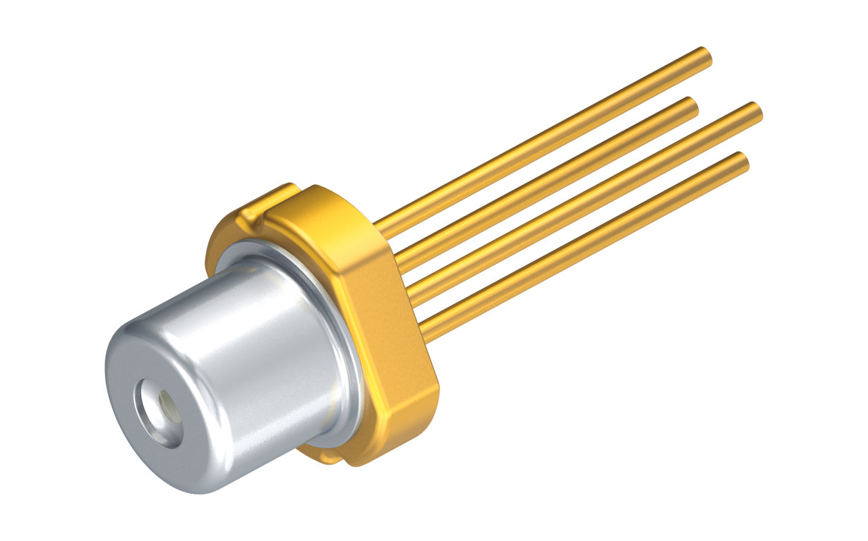 With 140 mW at 300 mA in pulsed mode the single-mode laser diode has achieved unprecedented performance for a green laser.
