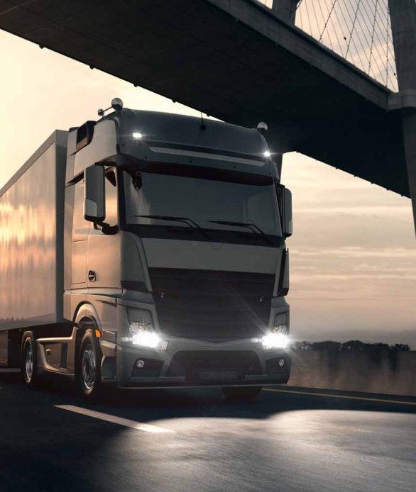 Light for trucks