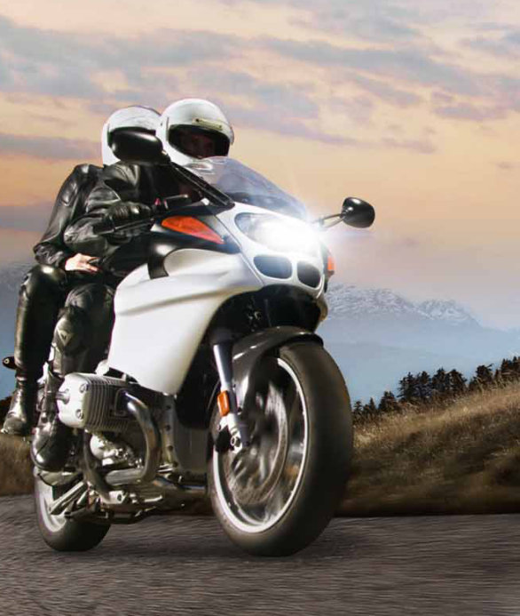Light for motorcyles