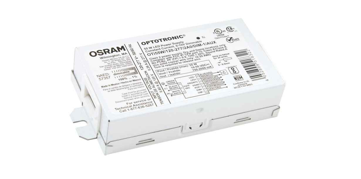 OPTOTRONIC Intelligent Programmable Compact LED Driver