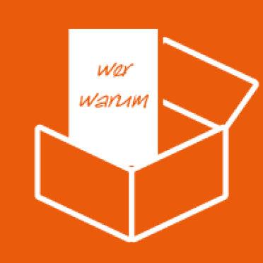 Rücksendung - legen Sie das Beschwerdeformular in den Karton