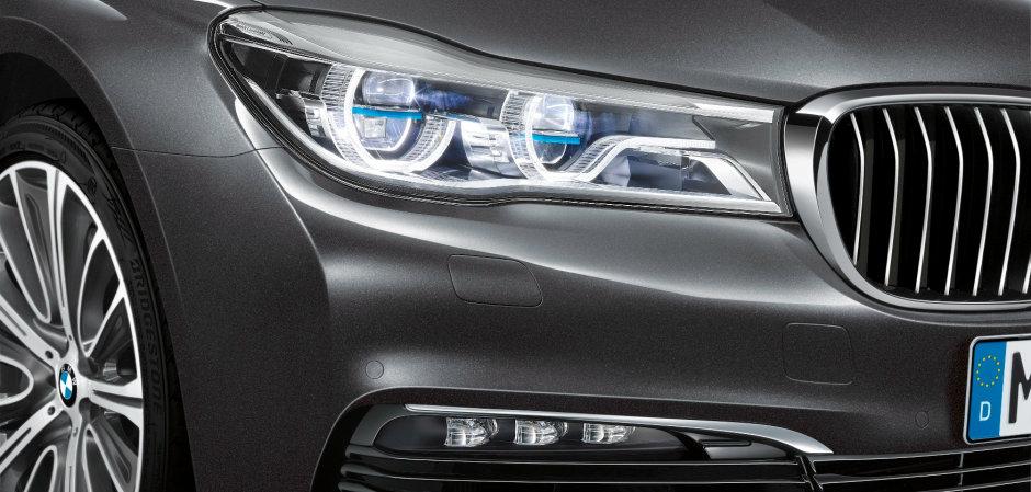 Luce laser sulla nuova BMW Serie 7
