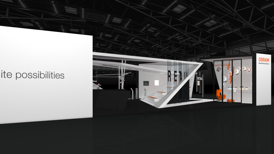 light + building 2018: With the motto Start Something Bright Osram Opto Semiconductors demonstrates innovative lighting technologies.