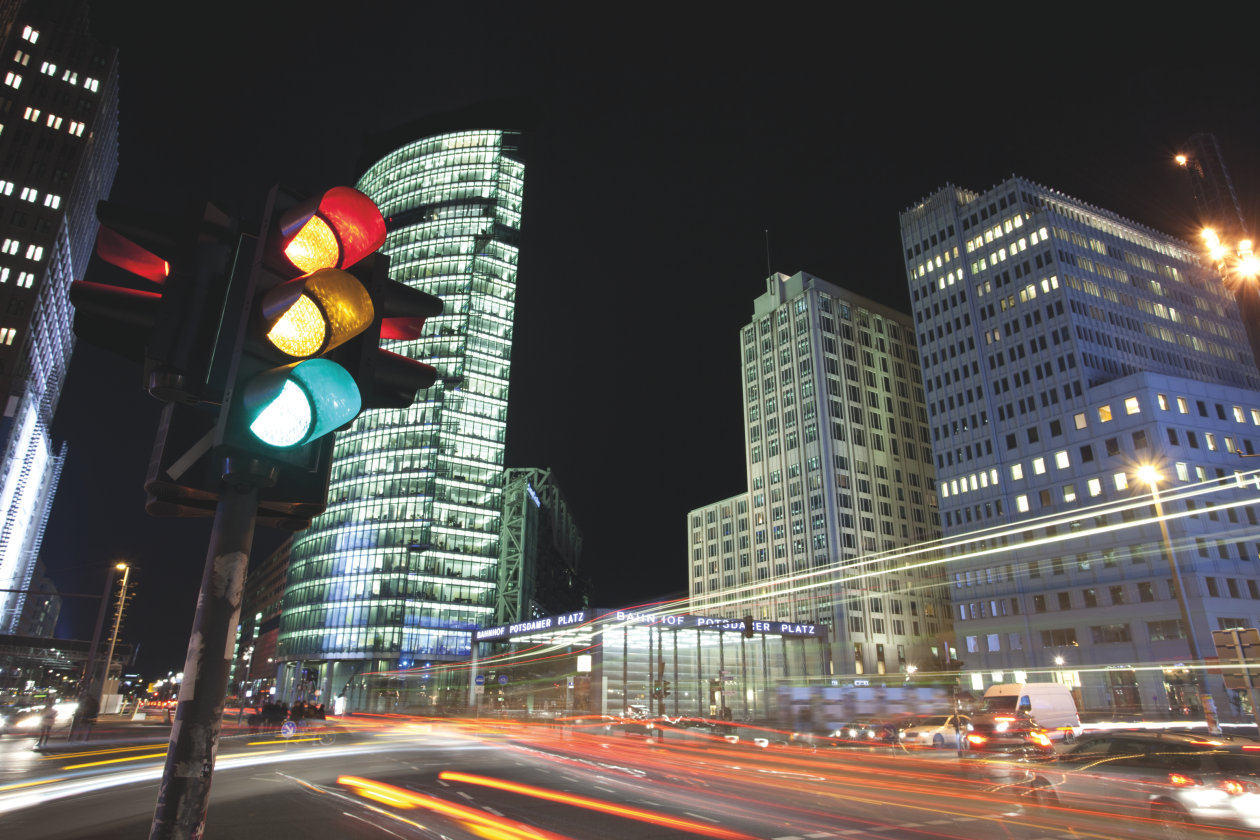 OSLON Signal • Traffic Lights at Potsdamer Platz