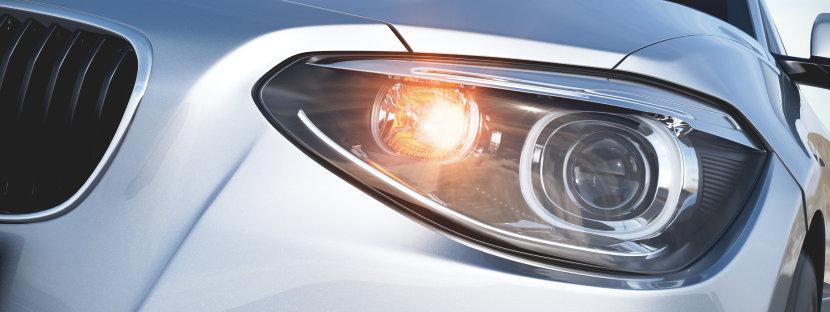 Автомобиль с сигнальными лампами DIADEM