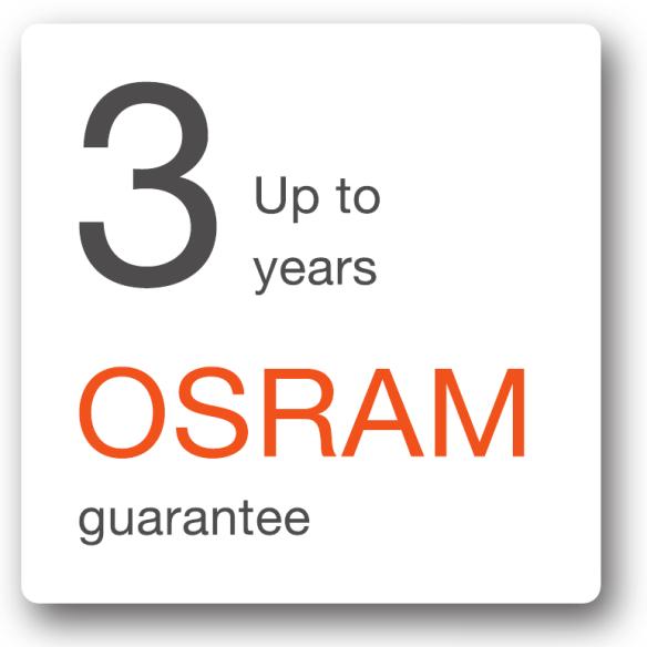 Гарантия OSRAM: Гарантия на светодиодные светильники OSRAM KREIOS.