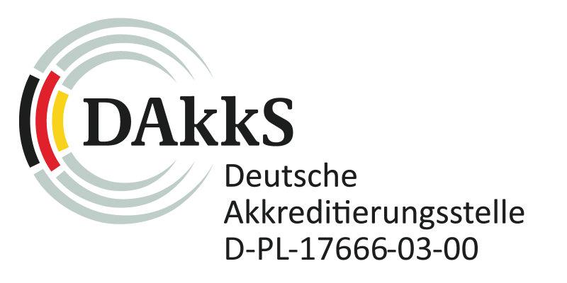 Akkreditiert nach DIN EN ISO/IEC 17025 als Prüflabor für zahlreiche Umweltsimulationsprüfungen