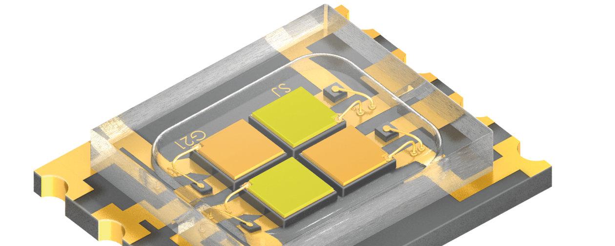 世界最小LED 器具の1つがオスラムLEDで輝く