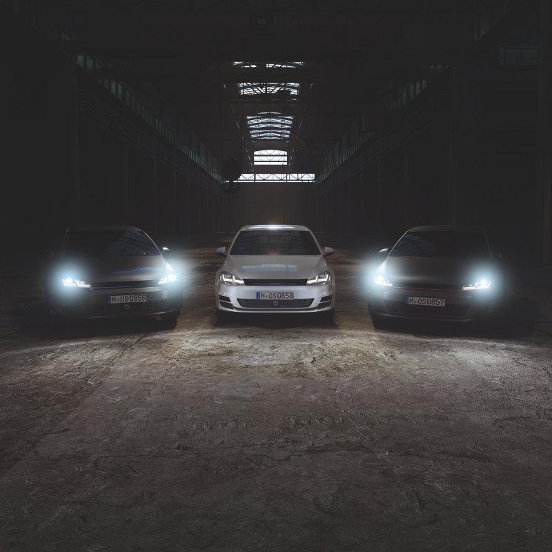 LEDriving headlights