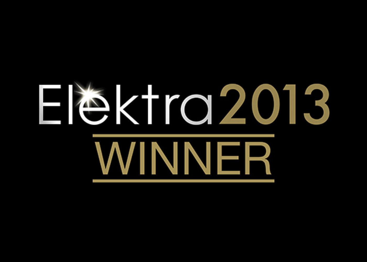 Elektra Awards 2013 winner logo