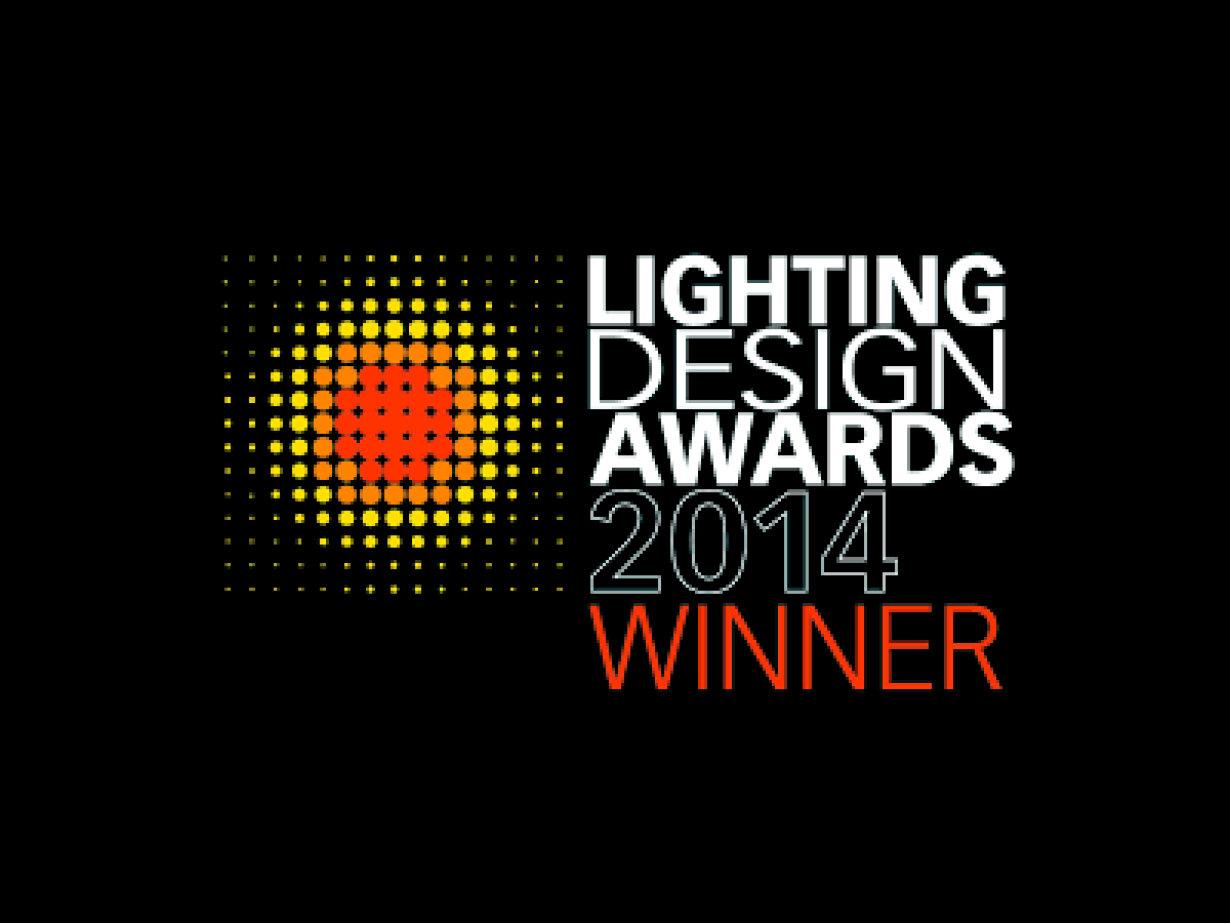 Lighting Design Award 2014 winner logo