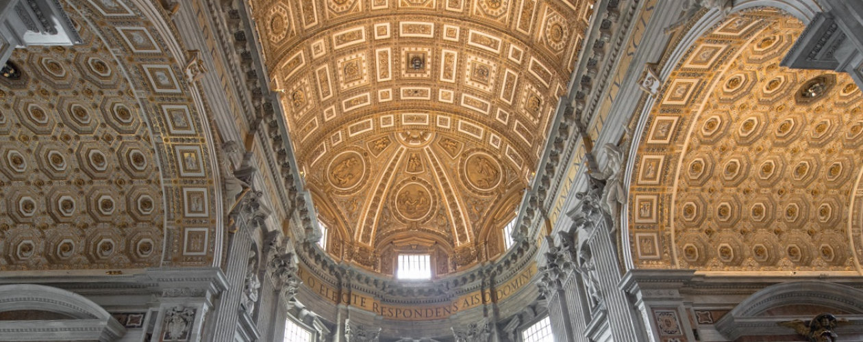 St. Peter's Basilica - Copyright Reverenda Fabbrica di San Pietro