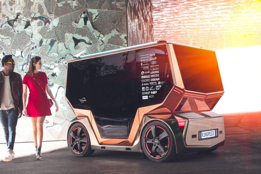 Rinspeed microSNAP Concept Car