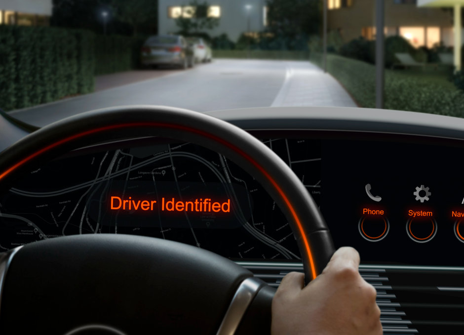 Osram makes car keys superfluous: unlocking with iris scan and facial recognition