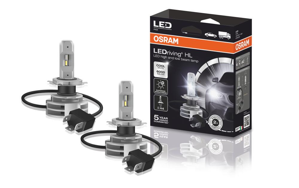 Автомобильные лампы в фары LED