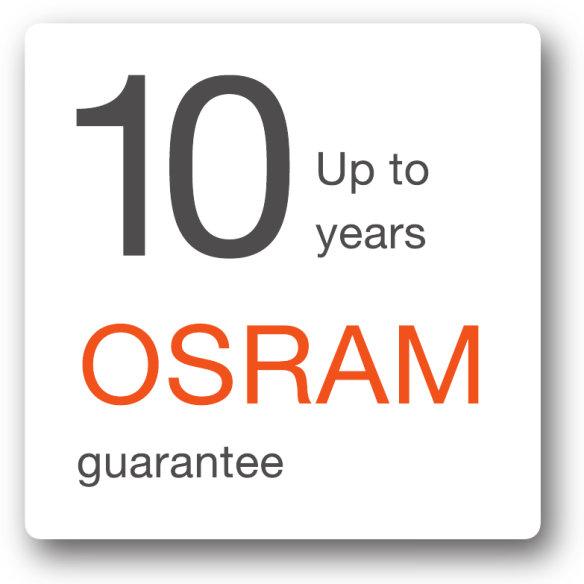 Hasta cinco años de garantías de OSRAM para el consumidor