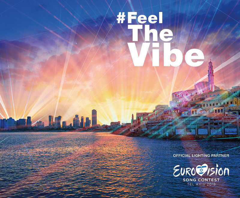 Eurovision Song Contest 2019 - The light voting in Tel Aviv